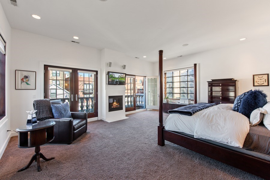 Real Estate Photography - 1619 N. Paulina St., Chicago, IL, 60622 - Master Bedroom