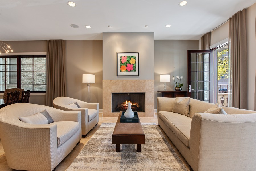 Real Estate Photography - 1619 N. Paulina St., Chicago, IL, 60622 - Living Room