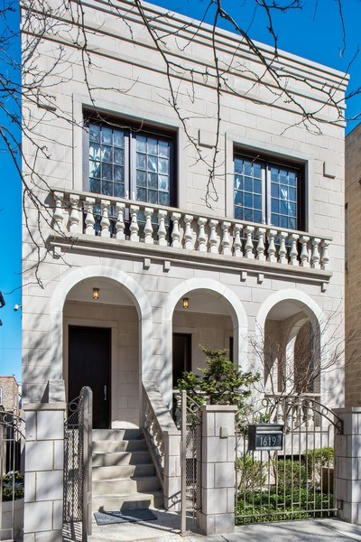 Real Estate Photography - 1619 N. Paulina St., Chicago, IL, 60622 - Front View
