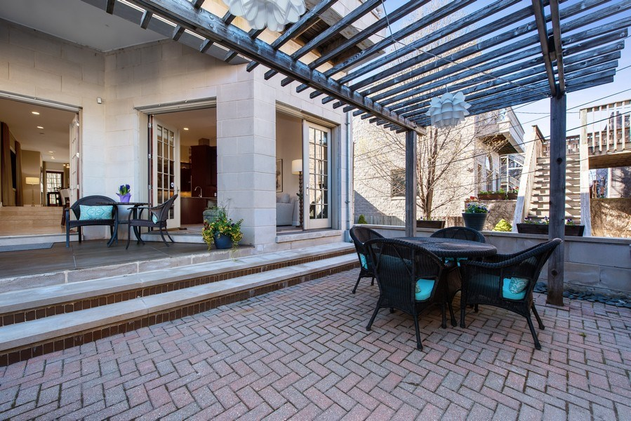 Real Estate Photography - 1619 N. Paulina St., Chicago, IL, 60622 - Patio