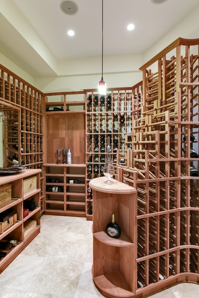 Real Estate Photography - 1619 N. Paulina St., Chicago, IL, 60622 - 1100 bottle temp controlled wine cellar