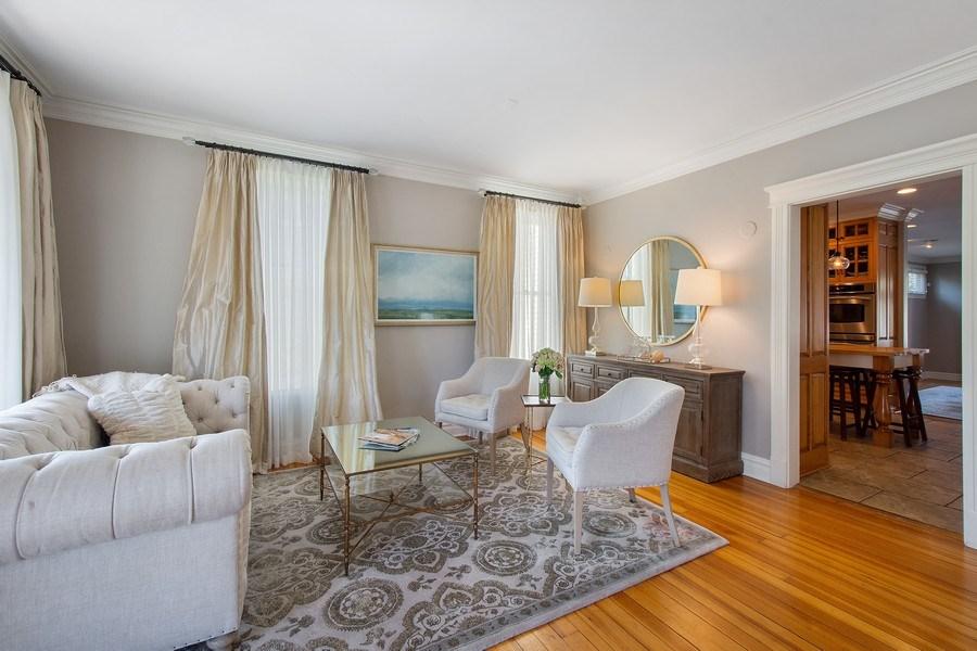 Real Estate Photography - 428 North Avenue, Barrington, IL, 60010 - Living Room