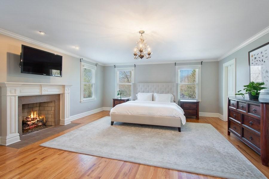 Real Estate Photography - 428 North Avenue, Barrington, IL, 60010 - Master Bedroom