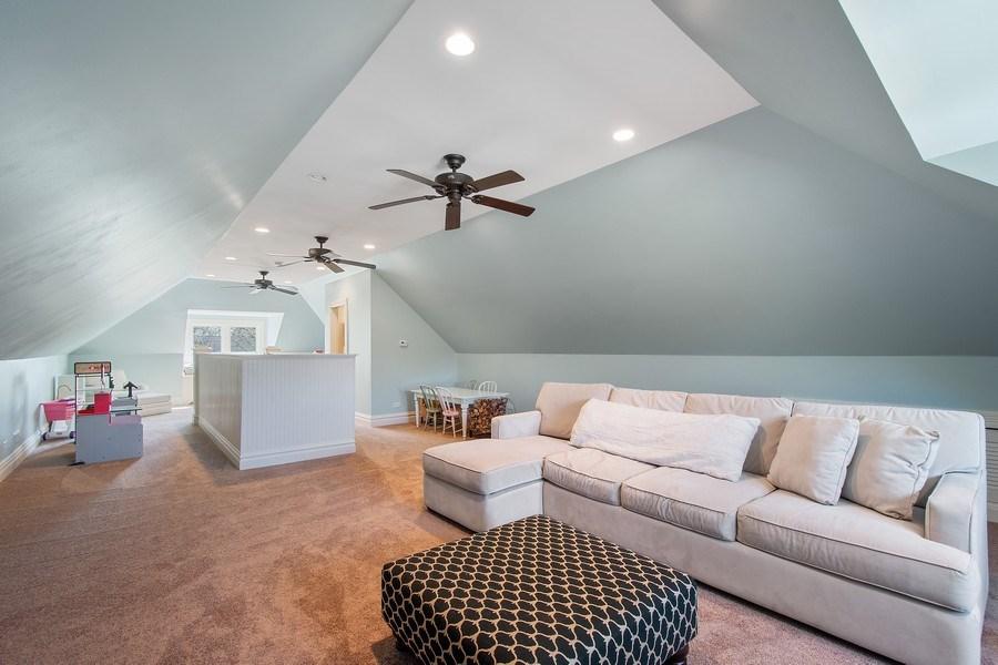Real Estate Photography - 428 North Avenue, Barrington, IL, 60010 - 3rd Floor Recreation Room