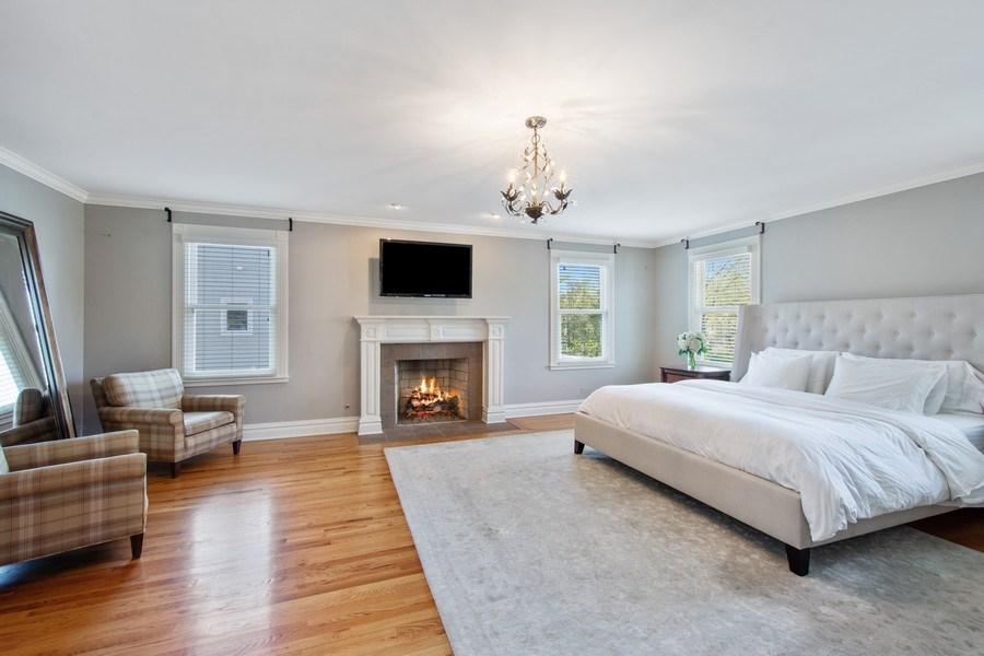 Real Estate Photography - 428 North Avenue, Barrington, IL, 60010 - Master Bedroom / Sitting Room