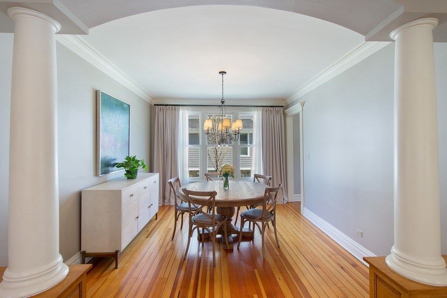 Real Estate Photography - 428 North Avenue, Barrington, IL, 60010 - Dining Room