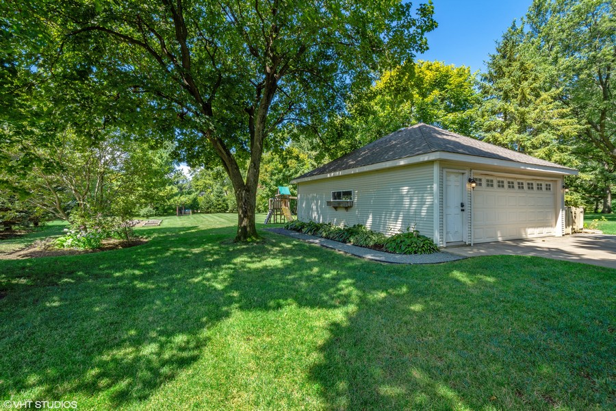 Real Estate Photography - 428 North Avenue, Barrington, IL, 60010 - Backyard