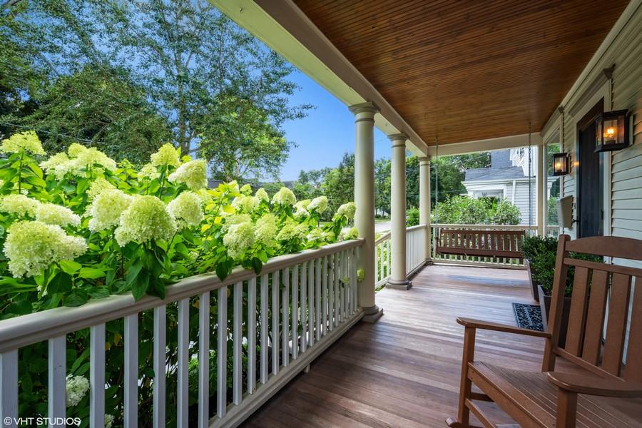 Real Estate Photography - 428 North Avenue, Barrington, IL, 60010 - Front Porch