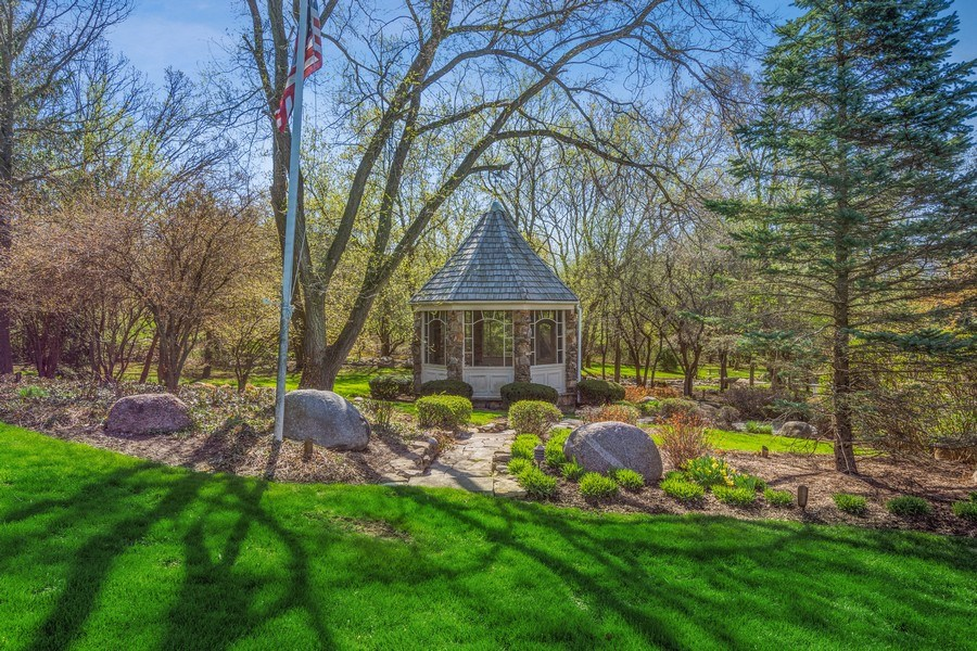Real Estate Photography - 7 S Wynstone Dr, North Barrington, IL, 60010 - Available 2nd Adjacent Lot w/Gazebo