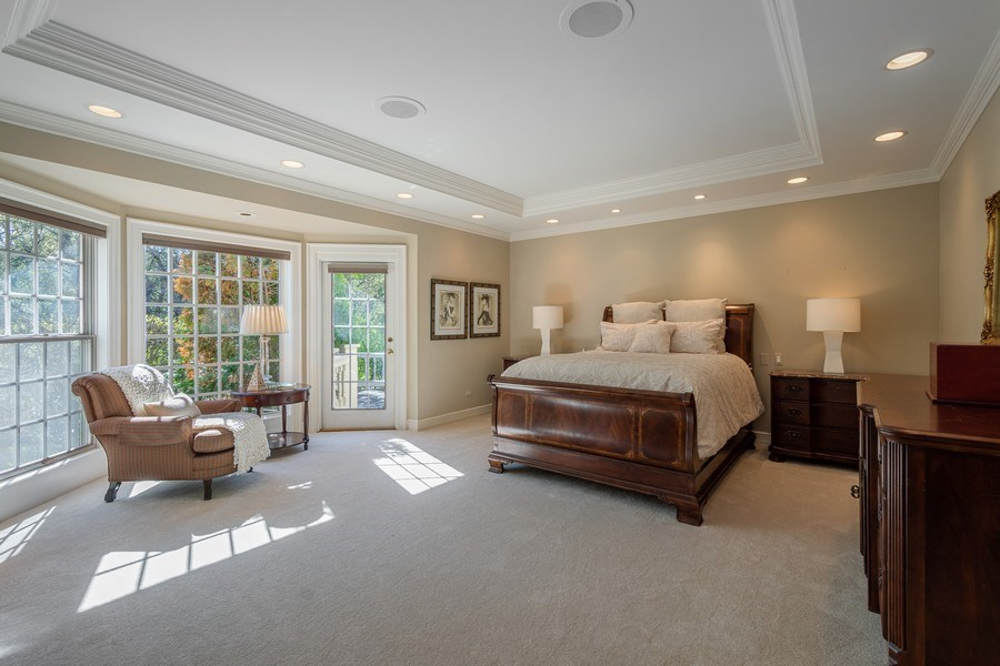 Real Estate Photography - 7 S Wynstone Dr, North Barrington, IL, 60010 - Main Level Master Suite