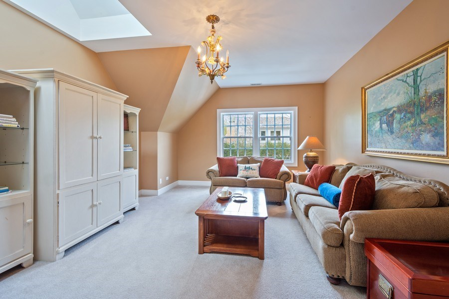 Real Estate Photography - 7 S Wynstone Dr, North Barrington, IL, 60010 - Sitting Room/6th Bedroom