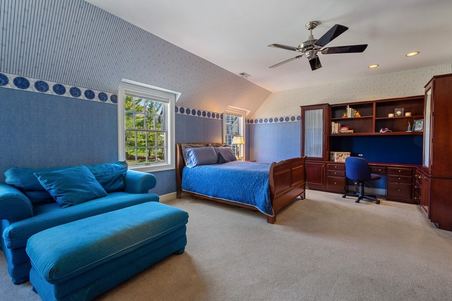 Real Estate Photography - 7 S Wynstone Dr, North Barrington, IL, 60010 - 3rd Bedroom