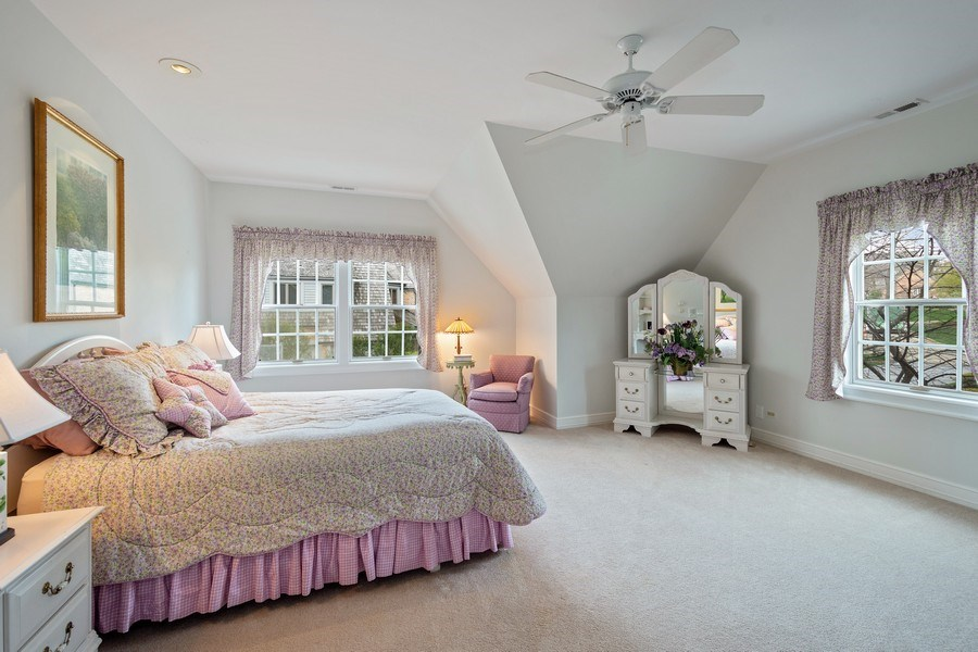 Real Estate Photography - 7 S Wynstone Dr, North Barrington, IL, 60010 - 2nd Bedroom