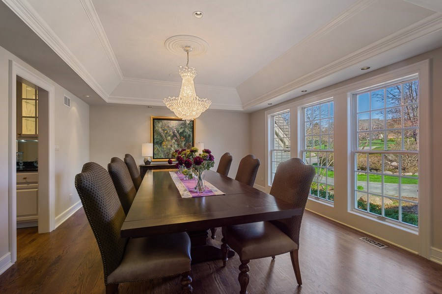 Real Estate Photography - 7 S Wynstone Dr, North Barrington, IL, 60010 - Dining Room