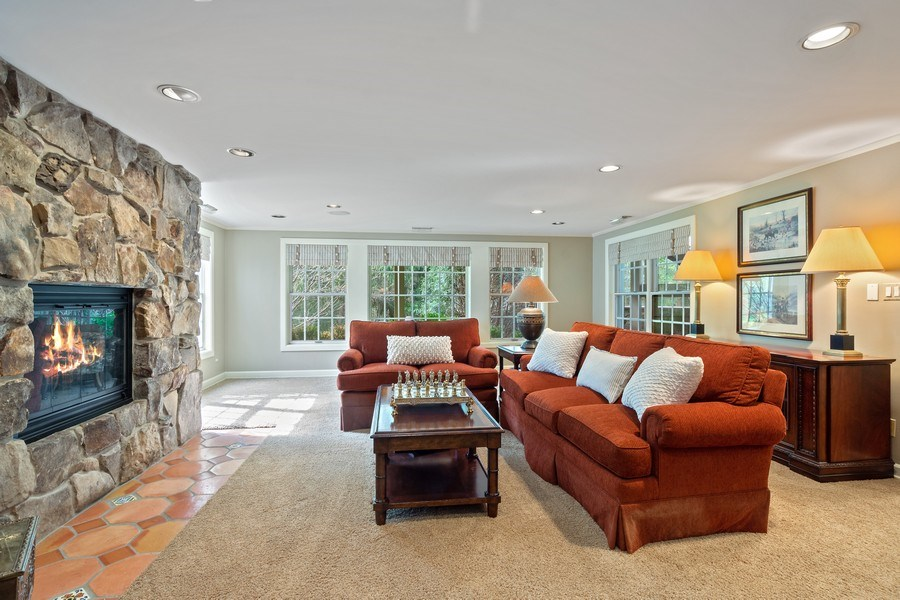 Real Estate Photography - 7 S Wynstone Dr, North Barrington, IL, 60010 - Recreation Room