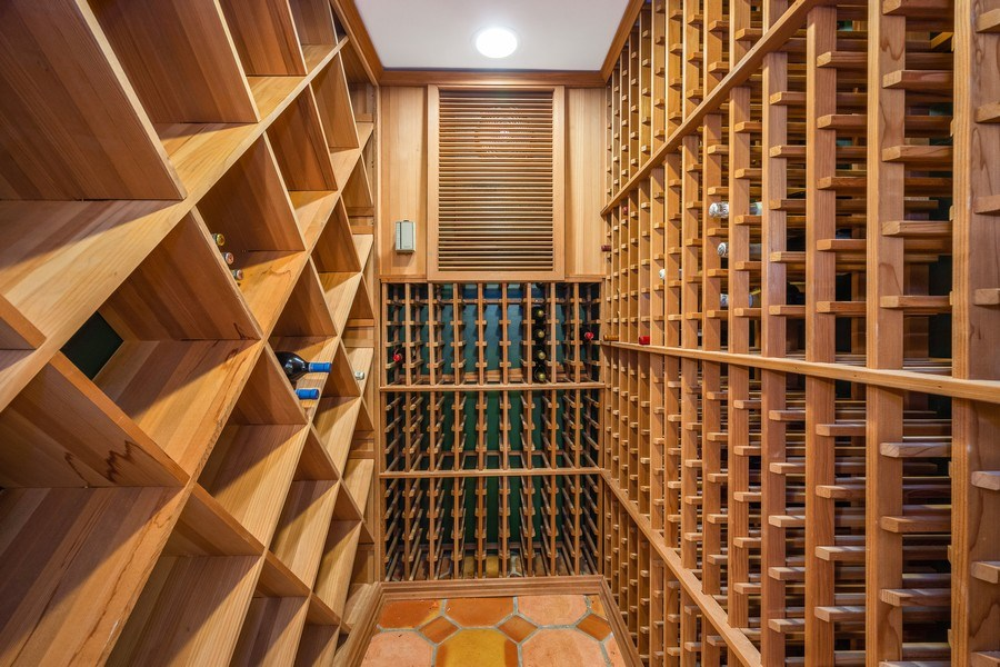 Real Estate Photography - 7 S Wynstone Dr, North Barrington, IL, 60010 - Wine Room