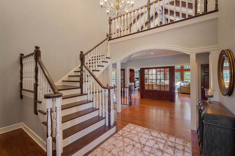 Real Estate Photography - 7 S Wynstone Dr, North Barrington, IL, 60010 - Foyer