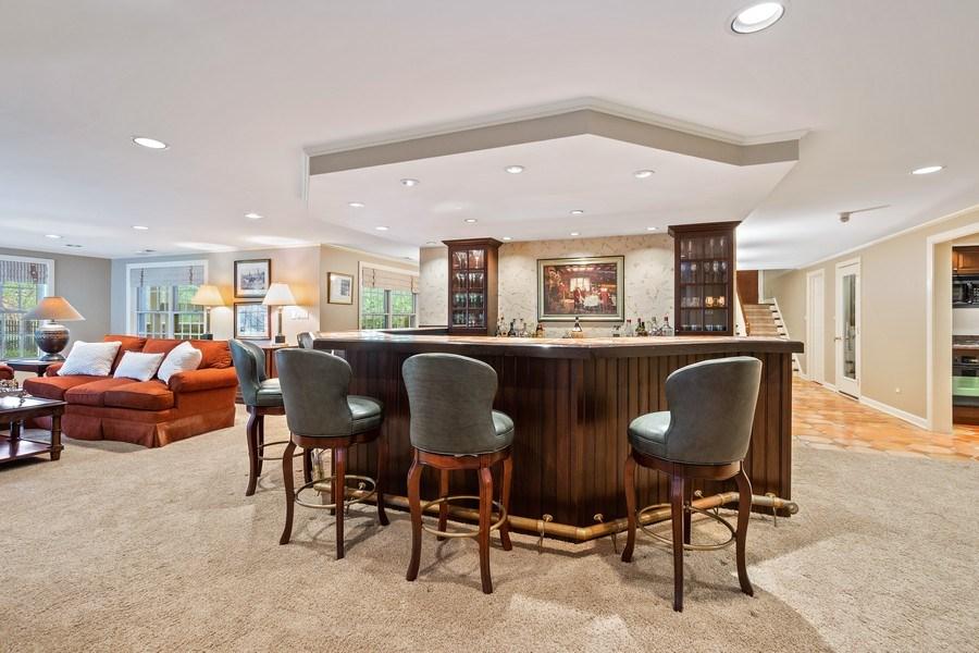 Real Estate Photography - 7 S Wynstone Dr, North Barrington, IL, 60010 - Bar