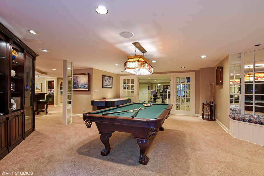 Real Estate Photography - 7 S Wynstone Dr, North Barrington, IL, 60010 - Game Room