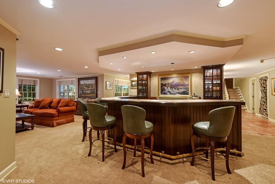 Real Estate Photography - 7 S Wynstone Dr, North Barrington, IL, 60010 - Recreation Room/Bar