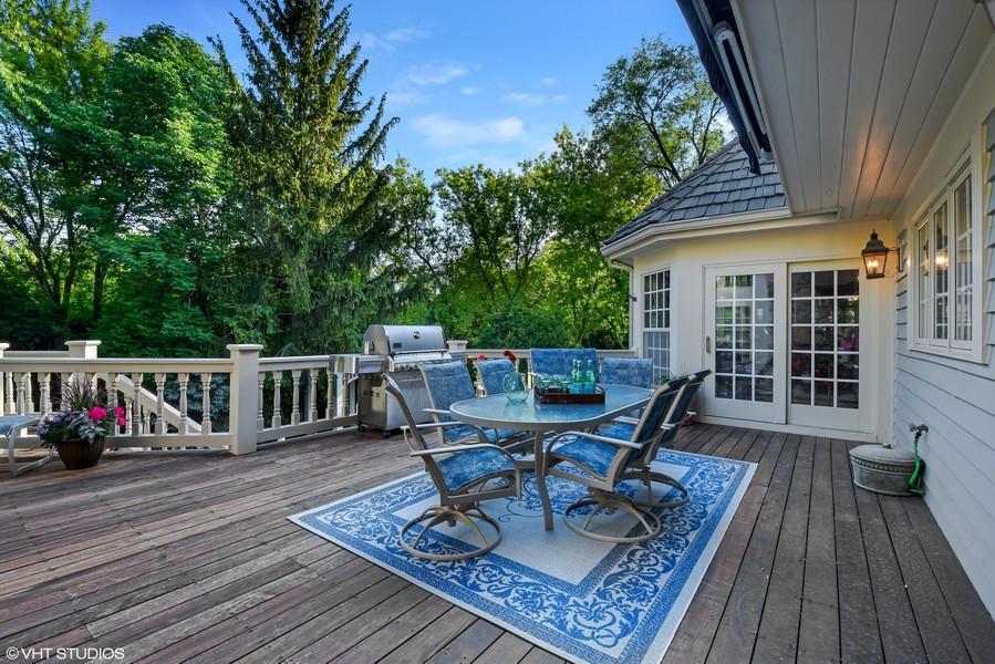 Real Estate Photography - 7 S Wynstone Dr, North Barrington, IL, 60010 - Deck