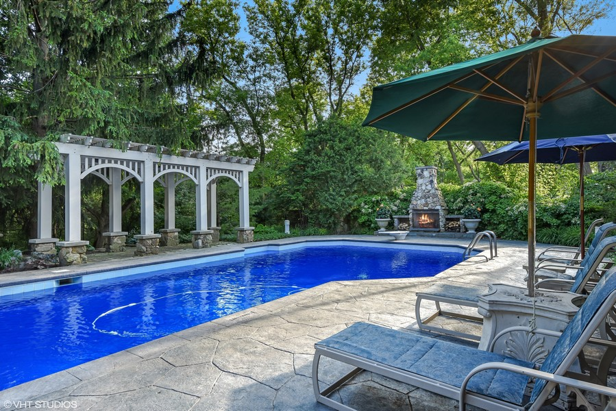 Real Estate Photography - 7 S Wynstone Dr, North Barrington, IL, 60010 - Pool