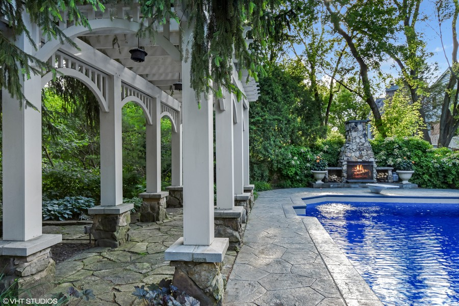 Real Estate Photography - 7 S Wynstone Dr, North Barrington, IL, 60010 - Pool/Pergola