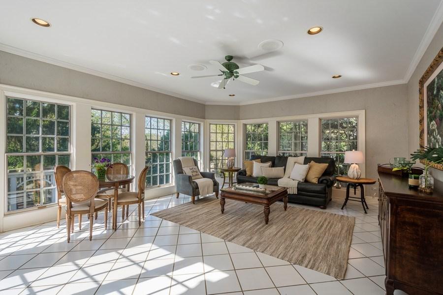 Real Estate Photography - 7 S Wynstone Dr, North Barrington, IL, 60010 - Heated Sun Room