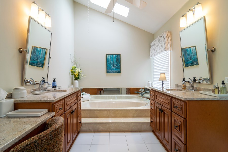 Real Estate Photography - 4010 N. Mitchell Drive, Arlington Heights, IL, 60004 - Master Bathroom