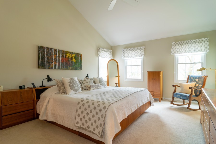 Real Estate Photography - 4010 N. Mitchell Drive, Arlington Heights, IL, 60004 - Master Bedroom