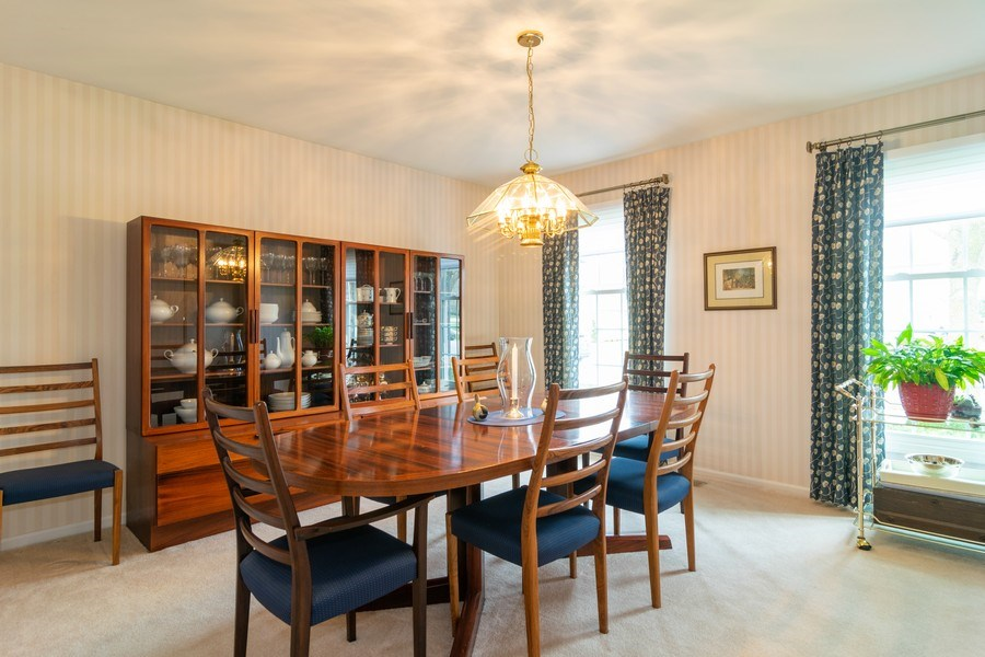 Real Estate Photography - 4010 N. Mitchell Drive, Arlington Heights, IL, 60004 - Dining Room