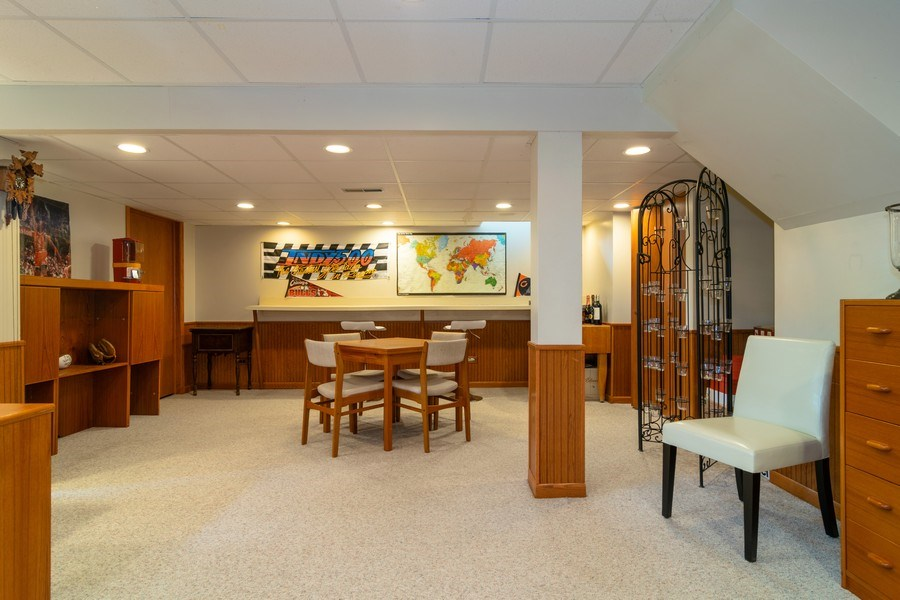 Real Estate Photography - 4010 N. Mitchell Drive, Arlington Heights, IL, 60004 - Recreation Room