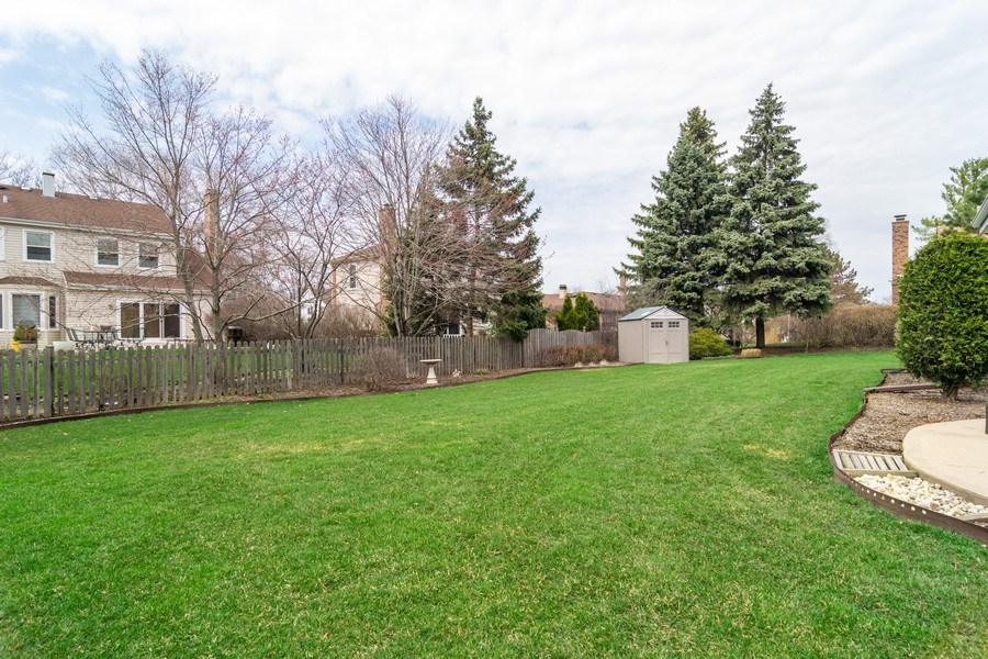Real Estate Photography - 4010 N. Mitchell Drive, Arlington Heights, IL, 60004 - Back Yard