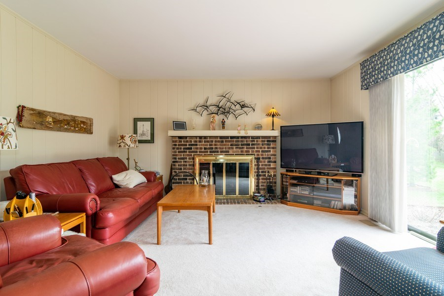Real Estate Photography - 4010 N. Mitchell Drive, Arlington Heights, IL, 60004 - Family Room