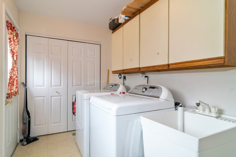 Real Estate Photography - 4010 N. Mitchell Drive, Arlington Heights, IL, 60004 - Laundry/Mud Room