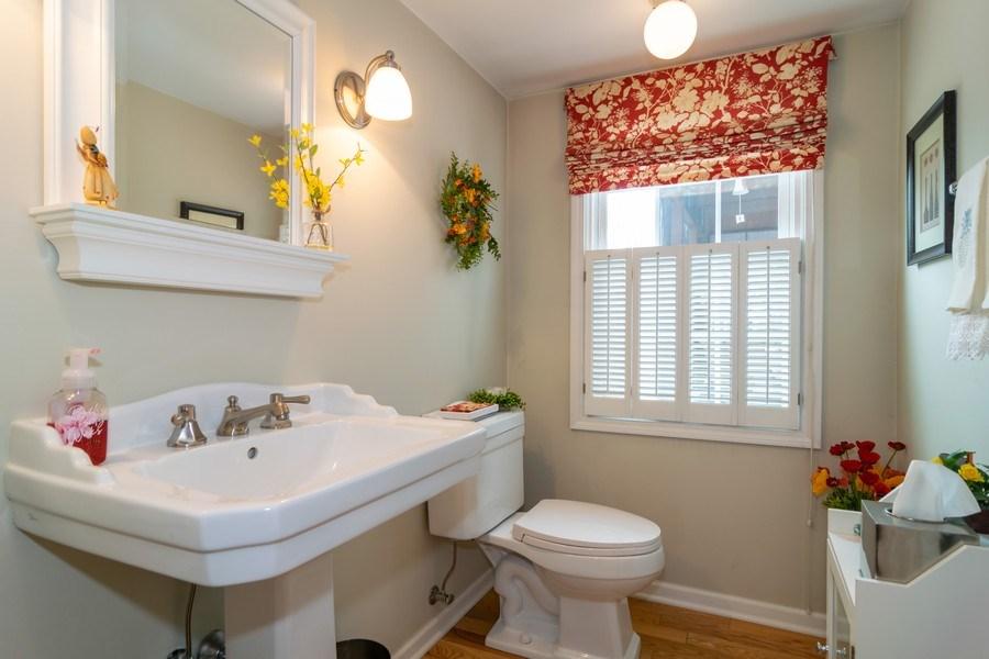 Real Estate Photography - 4010 N. Mitchell Drive, Arlington Heights, IL, 60004 - Half Bath