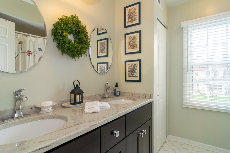 Real Estate Photography - 4010 N. Mitchell Drive, Arlington Heights, IL, 60004 - Bathroom