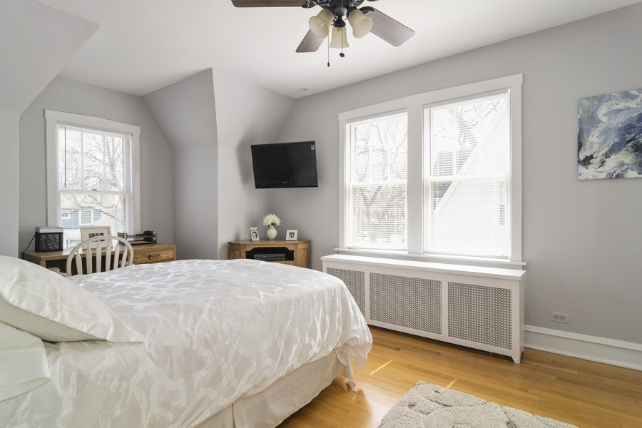 Real Estate Photography - 520 S. Mitchell, Arlington Heights, IL, 60005 - Bedroom 3