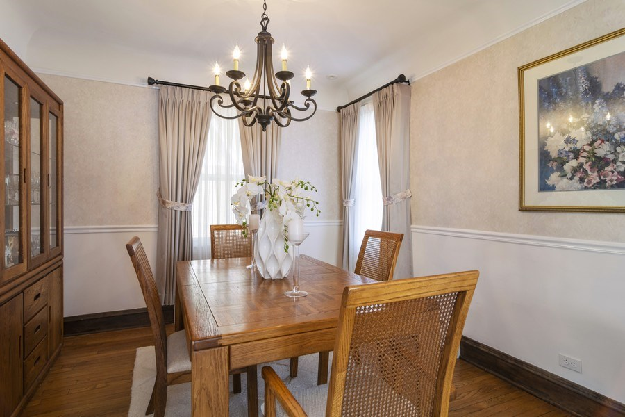 Real Estate Photography - 520 S. Mitchell, Arlington Heights, IL, 60005 - Dining Room