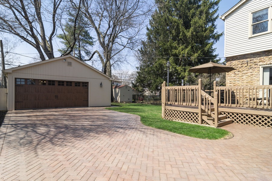Real Estate Photography - 520 S. Mitchell, Arlington Heights, IL, 60005 - Garage