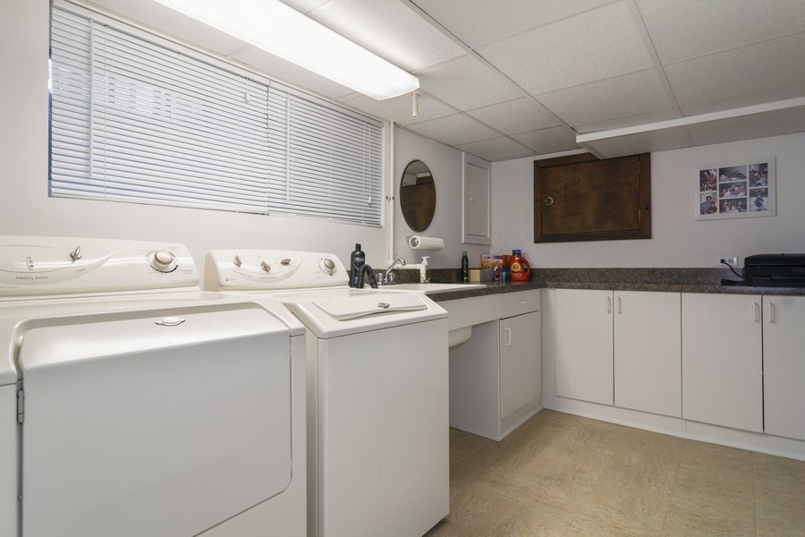 Real Estate Photography - 520 S. Mitchell, Arlington Heights, IL, 60005 - Laundry Room