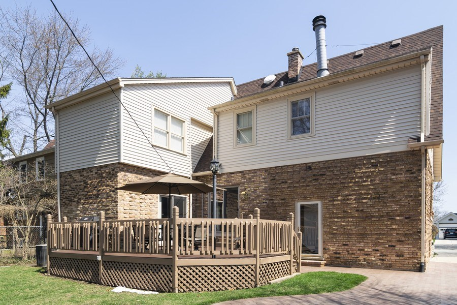Real Estate Photography - 520 S. Mitchell, Arlington Heights, IL, 60005 - Rear View