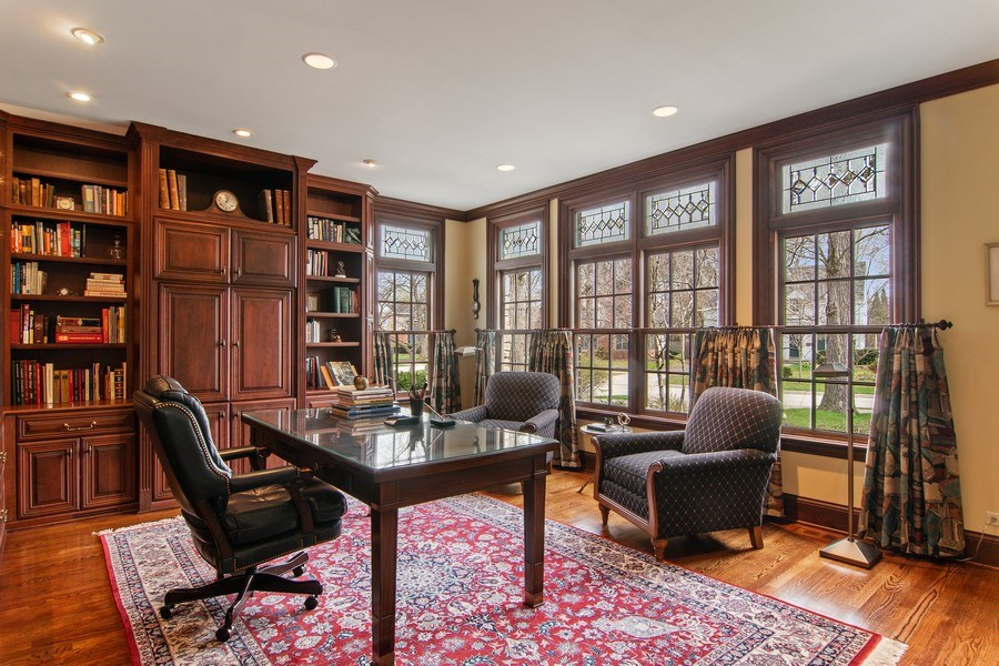 Real Estate Photography - 194 Akenside, Riverside, IL, 60546 - Office