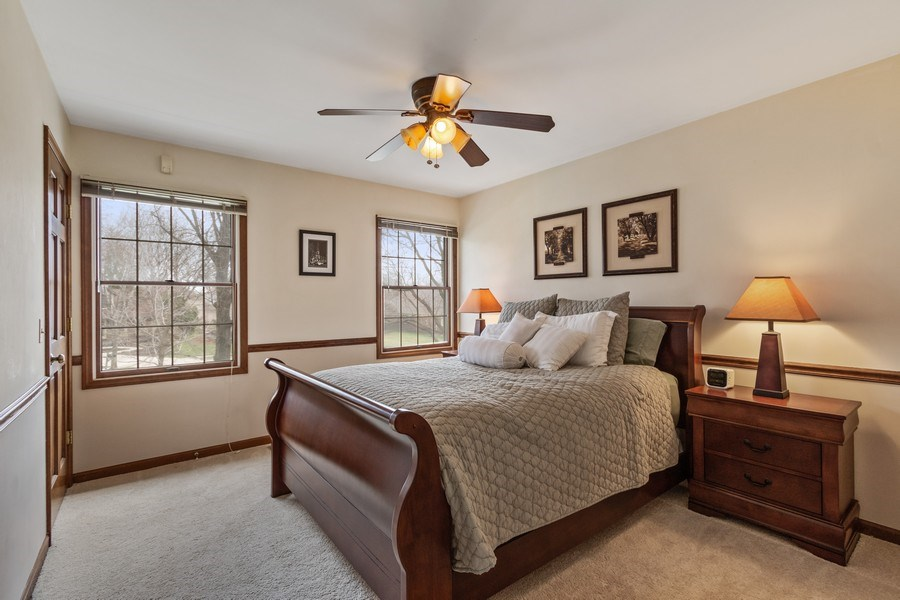 Real Estate Photography - 3570 Londonderry Court, Hoffman Estates, IL, 60067 - 2nd Bedroom