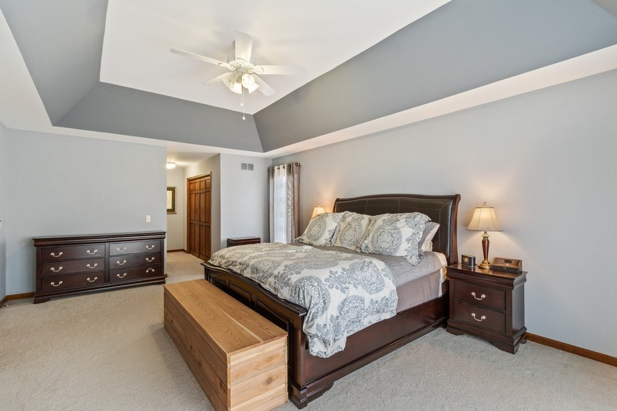 Real Estate Photography - 3570 Londonderry Court, Hoffman Estates, IL, 60067 - Master Bedroom