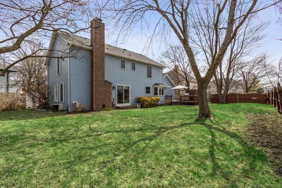 Real Estate Photography - 3570 Londonderry Court, Hoffman Estates, IL, 60067 - Rear View