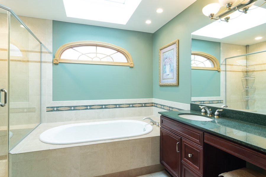 Real Estate Photography - 418 S Cleveland Ave, Arlington Heights, IL, 60005 - Master Bathroom