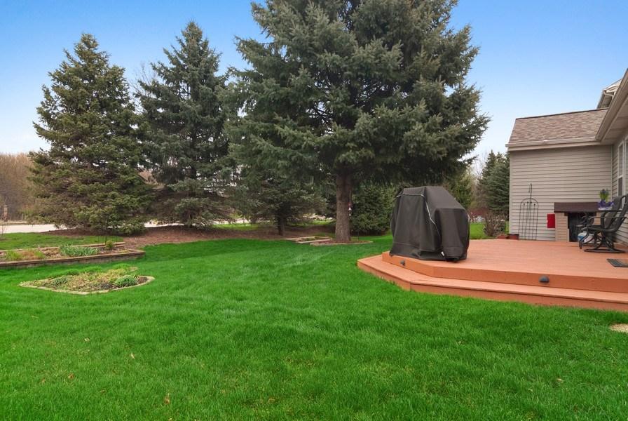 Real Estate Photography - 2473 Golf Trail Ct, Aurora, IL, 60506 - Back Yard