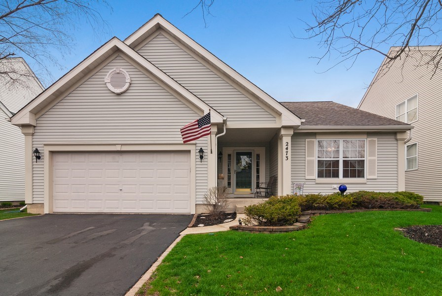 Real Estate Photography - 2473 Golf Trail Ct, Aurora, IL, 60506 - Front View