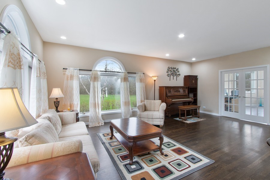 Real Estate Photography - 309 Dundee Road, Barrington, IL, 60010 - Living Room
